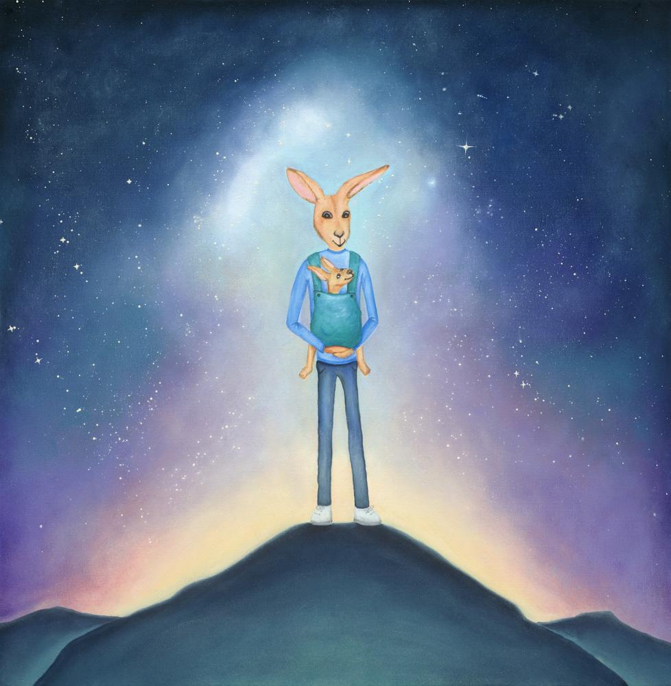 Always Carry You Kangaroo - Tracy Sheridan Art
